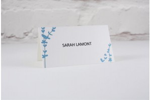 Floral Stems Place Card